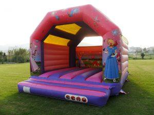 alquiler castillos hinchables malaga deportae Castillo princesa