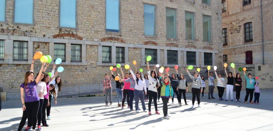 Curso de Animación Infantil Madrid marzo 2015 grupo exterior