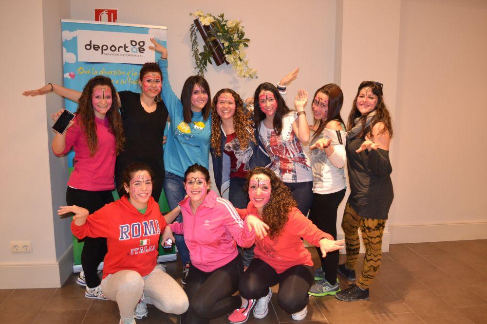 grupo Curso de Animación Infantil en Oviedo marzo 2015