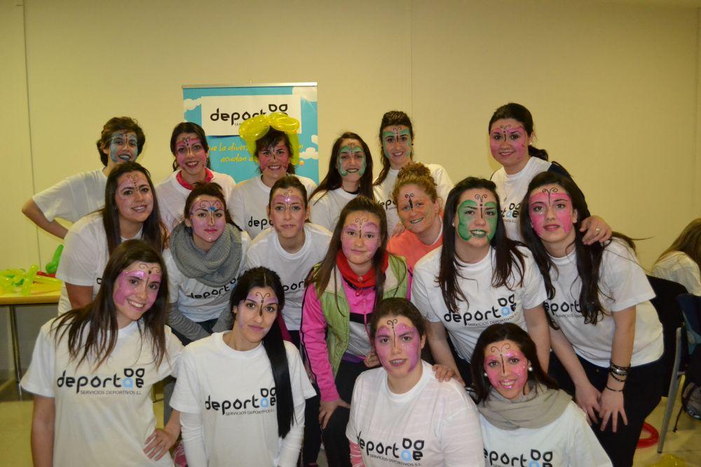 Curso de Animación Infantil Madrid marzo 2015 grupo