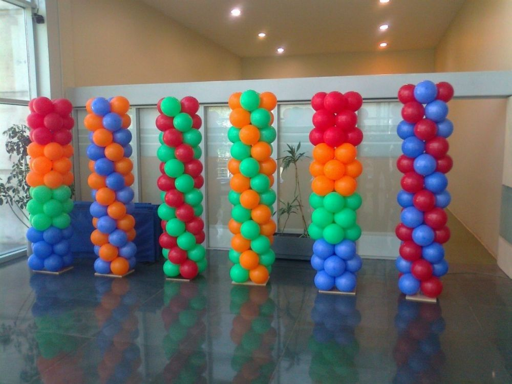 Curso de decoraci n con globos en sevilla octubre 2015 for Decoracion simple con globos