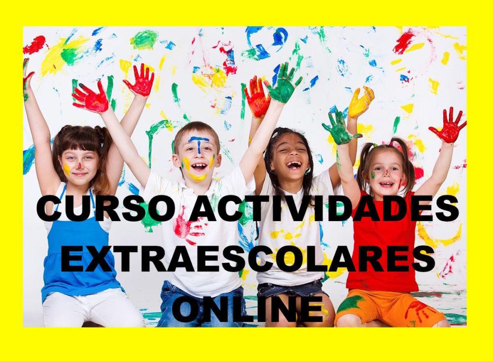 Curso monitor de actividades extraescolares online