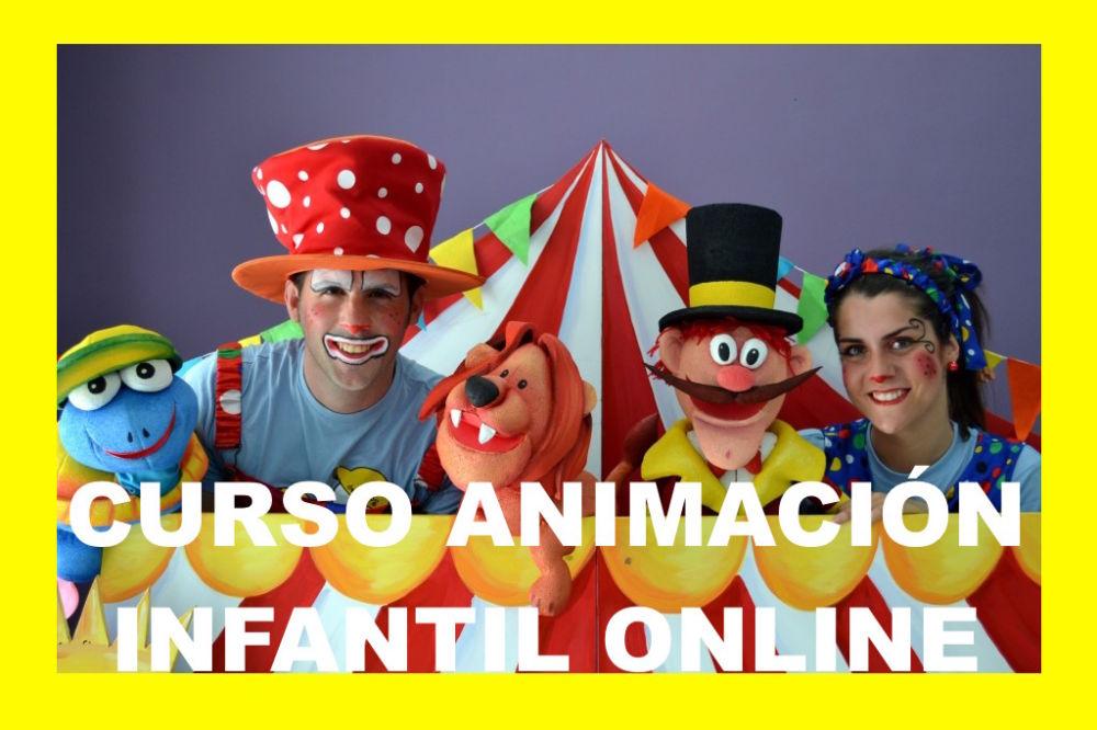 curso animación infantil online