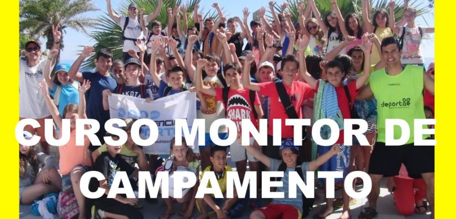 curso monitor de campamento online