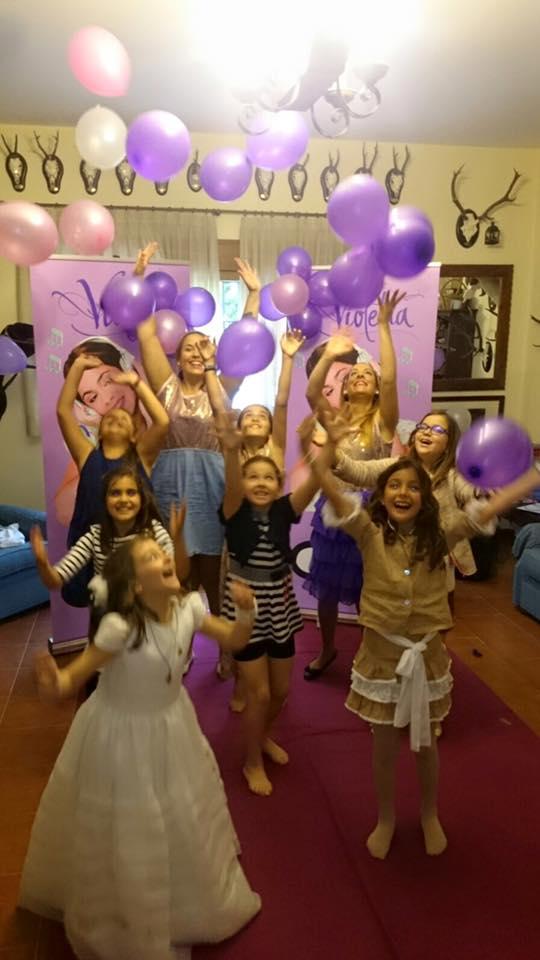 Animación Infantil de Violetta en Málaga