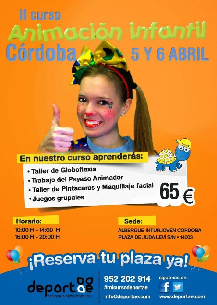 Curso De Animación Infantil En Córdoba Deportae Animación Infantil Y Deporte