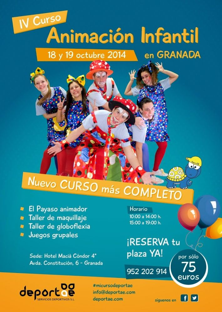 Curso De Animación Infantil En Granada Deportae Animación Infantil Y Deporte