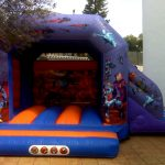 alquiler castillos hinchables malaga deportae Castillo Super heroes 5,5 x 4m
