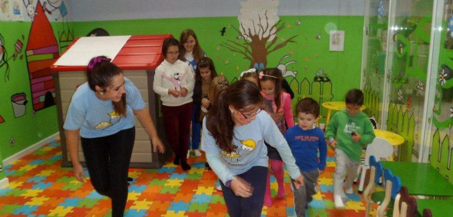 gestión de salas infantiles
