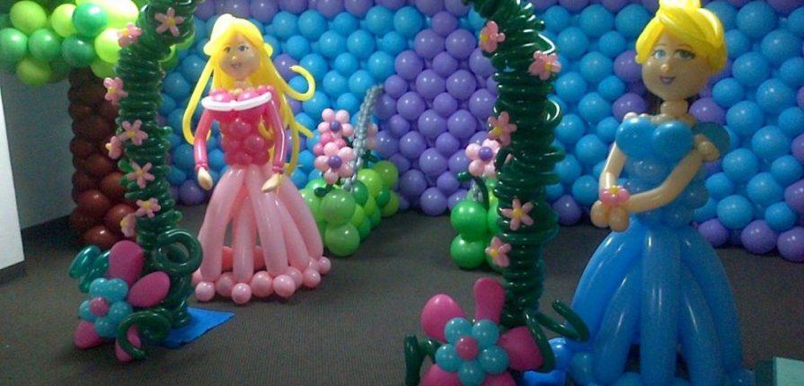 Decoración Con Globos En Málaga Deportae Fiestas Infantiles