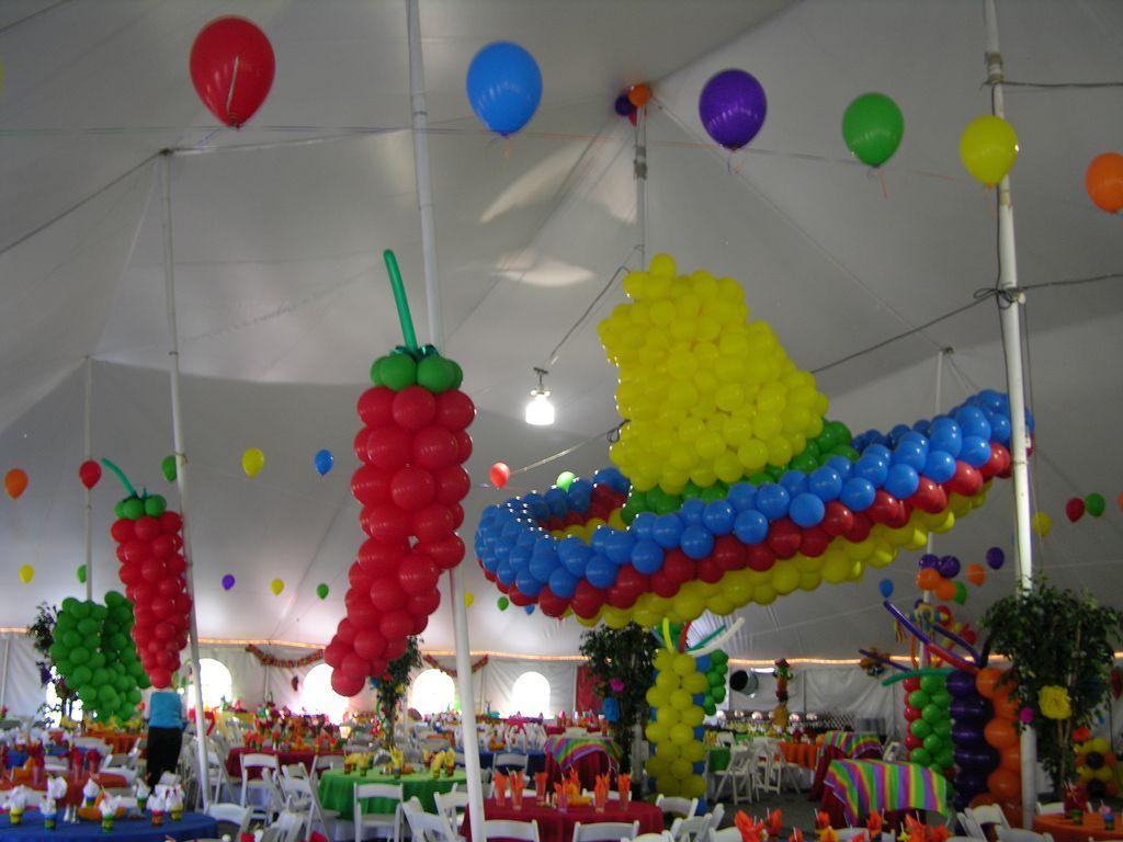 Decoraci n con globos en m laga deportae fiestas infantiles for Malaga decoracion