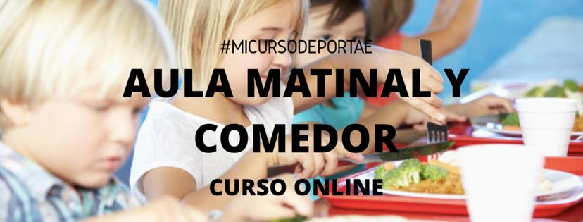 Curso Monitor Aula Matinal y Comedor escolarOnline