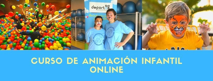 curso animacion infantil online