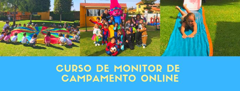 curso de monitor de campamento online
