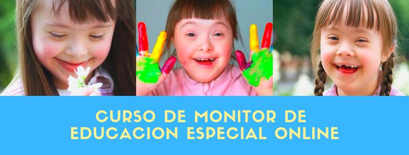 curso de monitor de educacion especial online