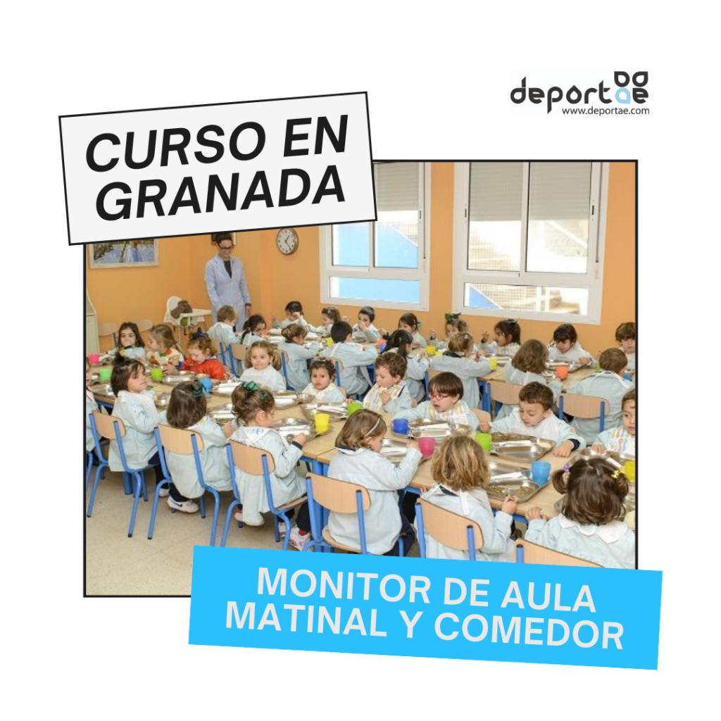 Curso de Monitor de Aula matinal y comedor en Granada