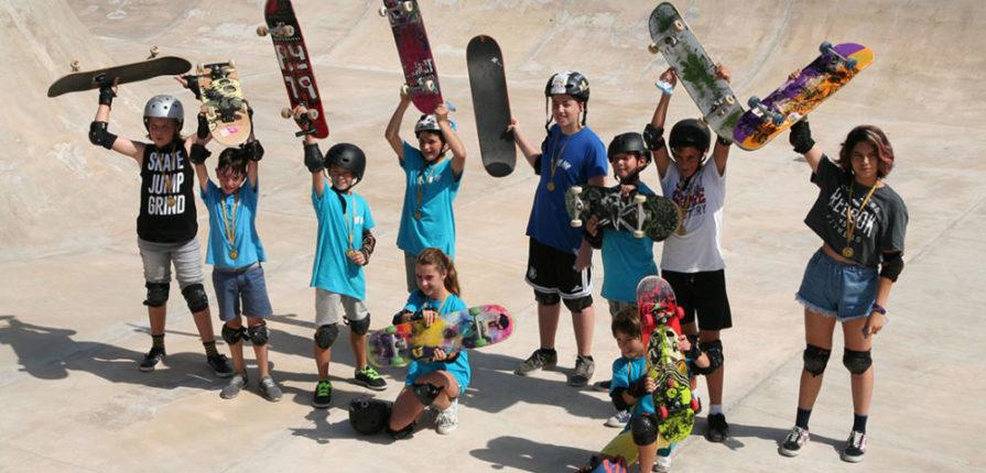 Campamento de Verano Skatepark de Málaga