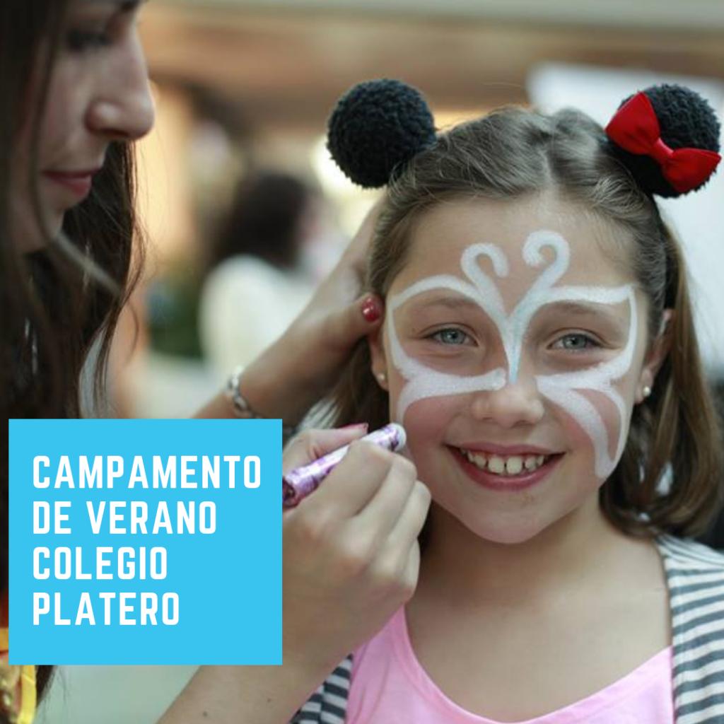 Campamento de Verano en Colegio Platero 2019