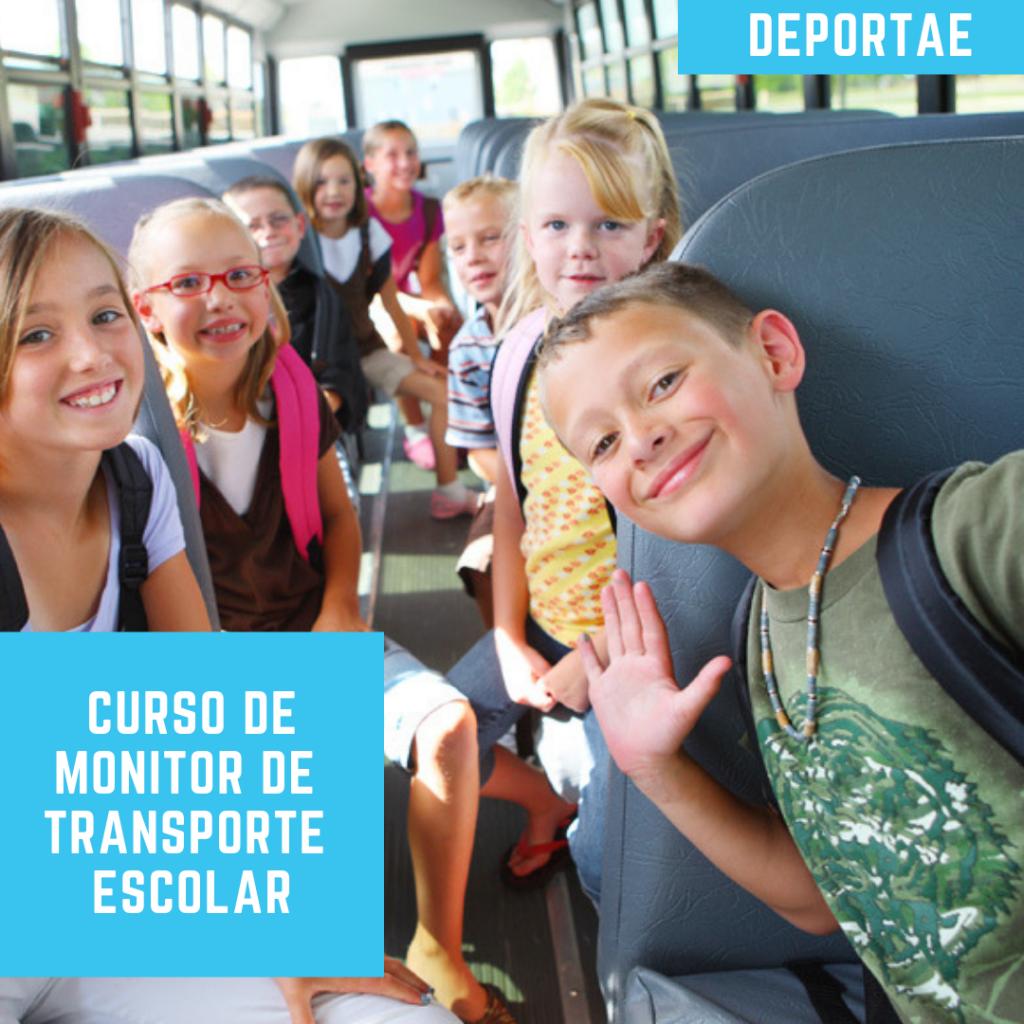 curso monitor de transporte escolar online