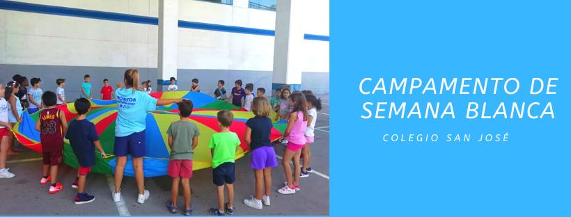 Campamento de Semana Blanca colegio san josé