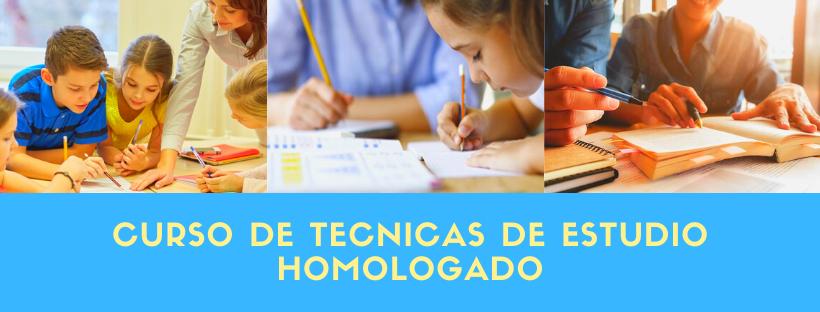 Curso de técnicas de estudio homologado