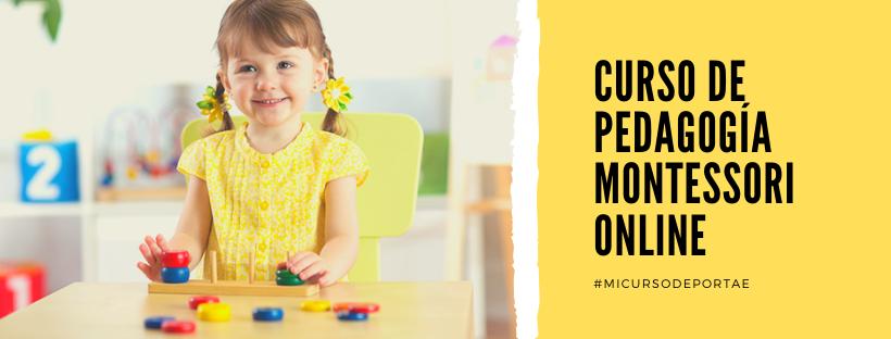 curso de pedagogia montessori online