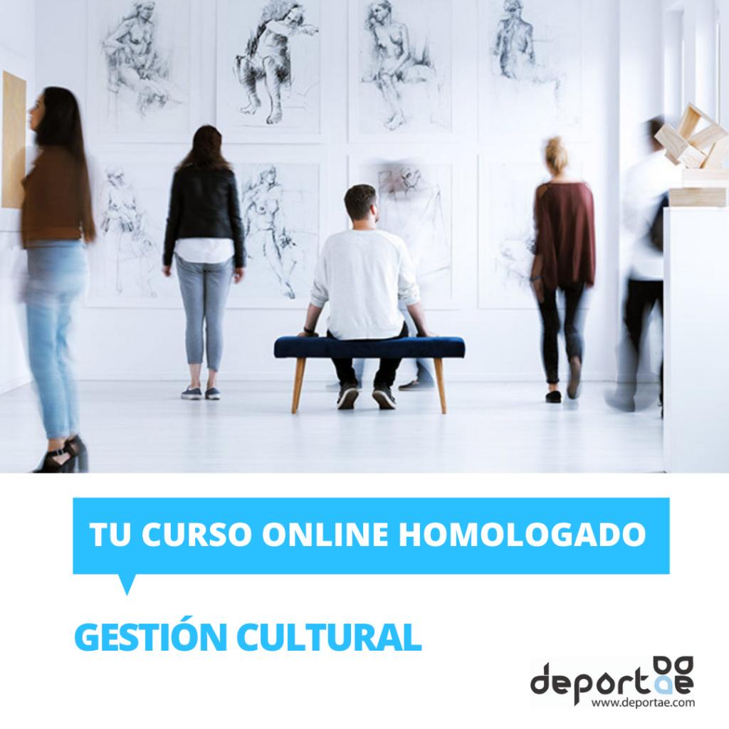 Curso de Gestión Cultural homologado