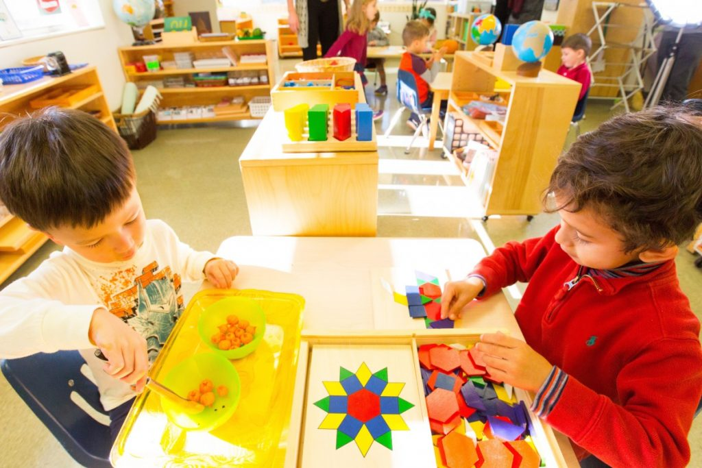 La pedagogía en los centros Montessori