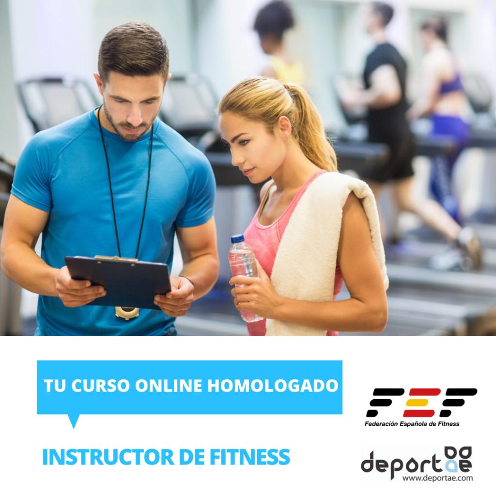 Curso de Instructor de Fitness en Gimnasios homologado