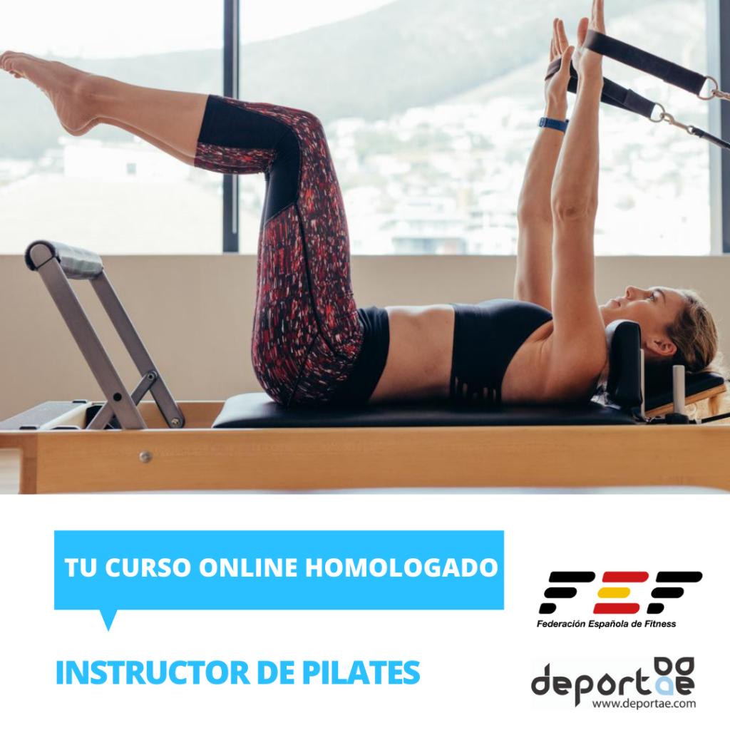 curso de instructor de pilates homologado