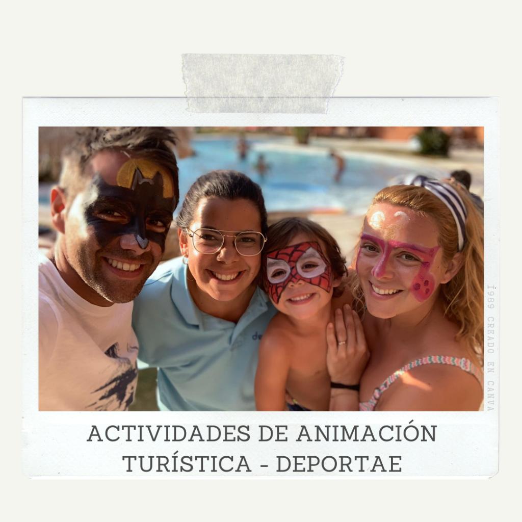 Actividades de Animación Turística según la edad